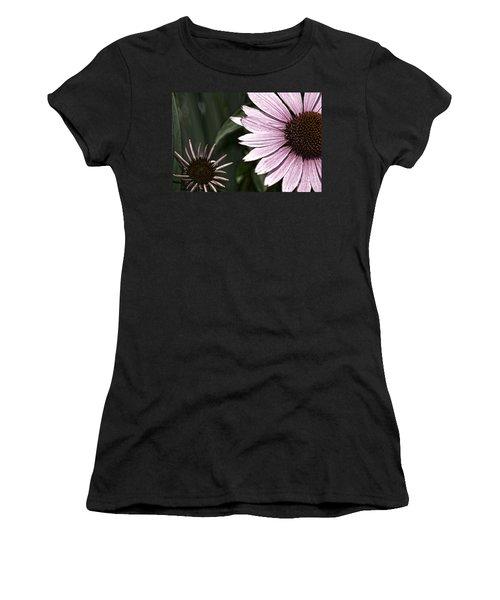 Purple Coneflower Imperfection Women's T-Shirt