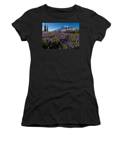 Purple Fields Forever And Ever Women's T-Shirt