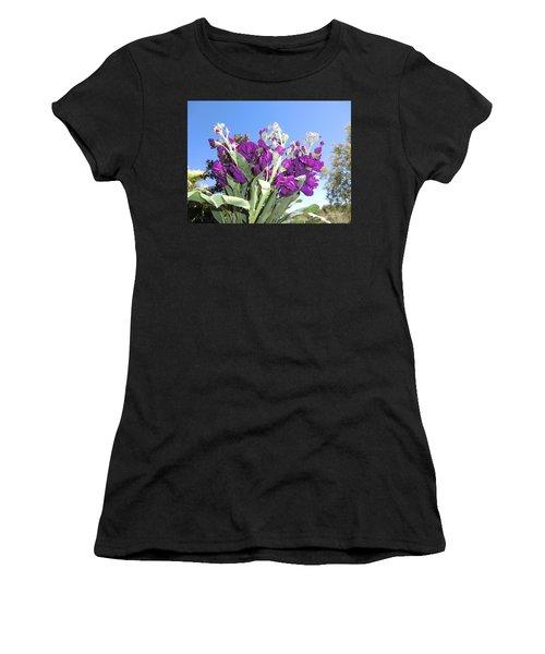 Purple Glow Women's T-Shirt