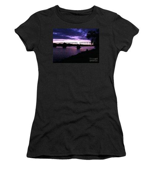 Purple Sunset Women's T-Shirt
