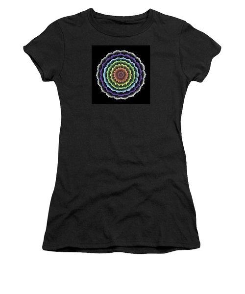 Quan Yin's Healing Women's T-Shirt (Junior Cut) by Keiko Katsuta