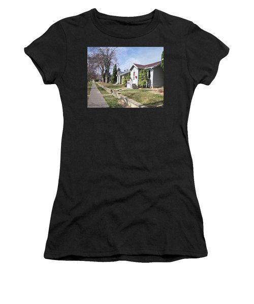 Quiet Street Waiting For Spring Women's T-Shirt