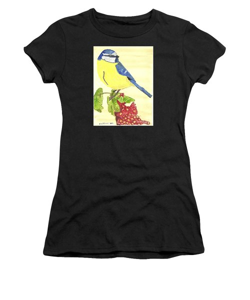 Quietly Watching Women's T-Shirt (Athletic Fit)