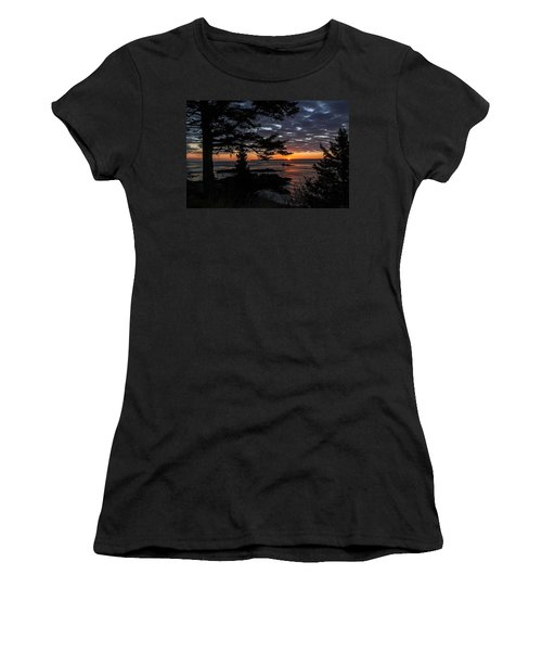 Quoddy Sunrise Women's T-Shirt (Athletic Fit)