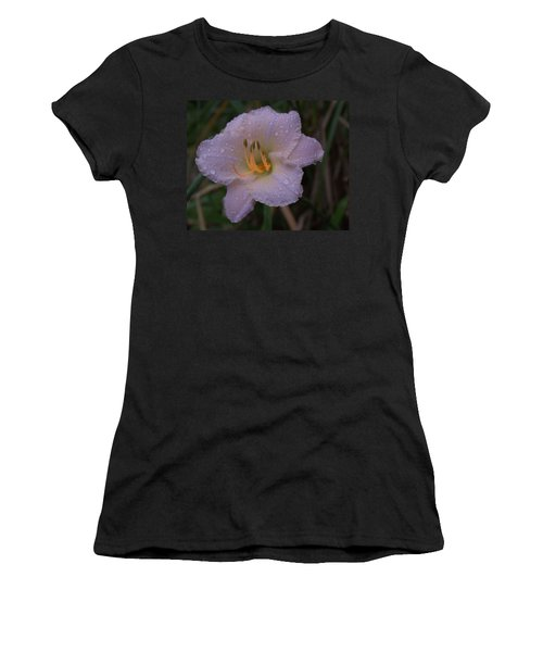 Rain Daylilly 2 Women's T-Shirt