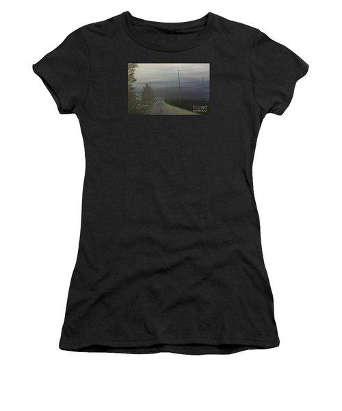 Rain Storm Women's T-Shirt (Athletic Fit)