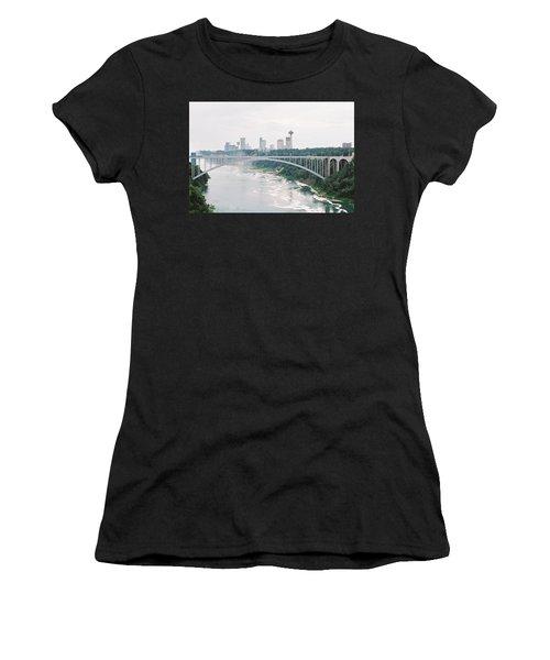 Rainbow Bridge Women's T-Shirt (Athletic Fit)