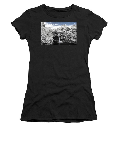Rainbow Falls In Infrared 2 Women's T-Shirt