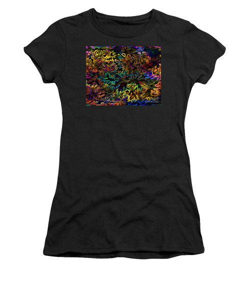 Rainbows In The Forest Women's T-Shirt