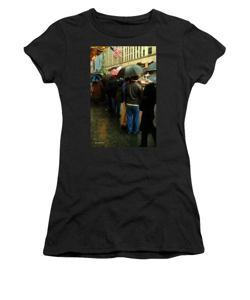 Rainy Afternoon On Broadway Women's T-Shirt