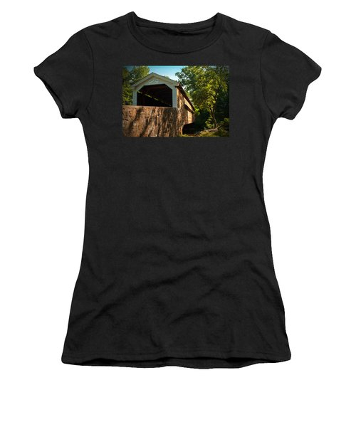 Rapps Covered Bridge Women's T-Shirt (Athletic Fit)