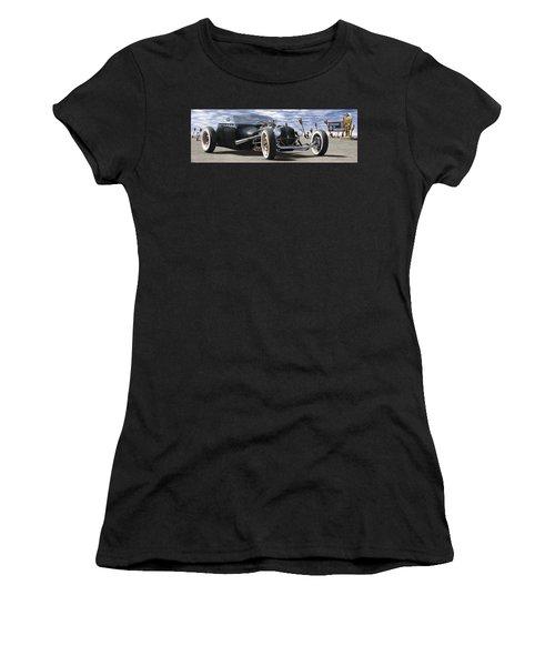 Rat Rod On Route 66 2 Panoramic Women's T-Shirt
