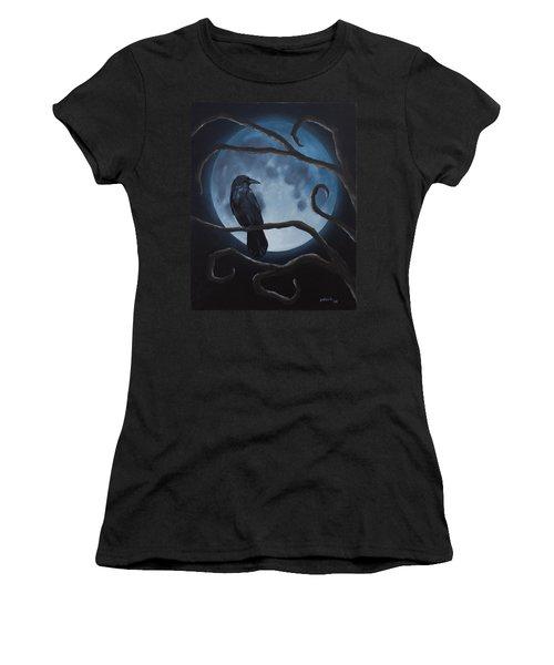 Raven Moon Women's T-Shirt
