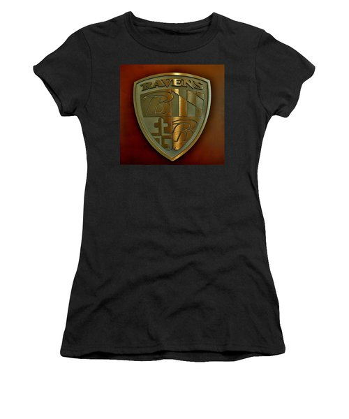 Ravens Coat Of Arms Women's T-Shirt (Athletic Fit)