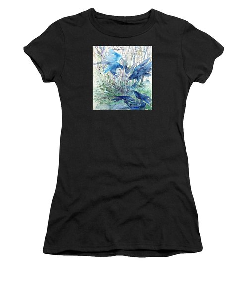Ravens Wood Women's T-Shirt (Athletic Fit)