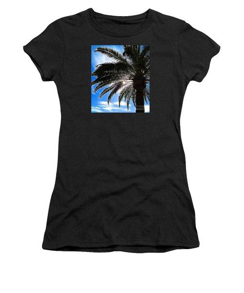 Reaching For Heaven Women's T-Shirt (Junior Cut) by Margie Amberge