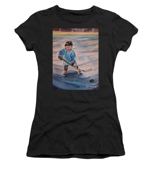 Ready Set Go Women's T-Shirt (Athletic Fit)