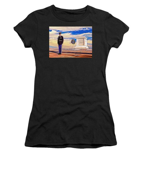 Recitation Of The Requirements Of Honor Guards Women's T-Shirt