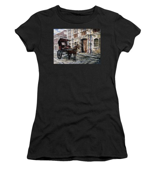 Red Carriage Women's T-Shirt (Athletic Fit)