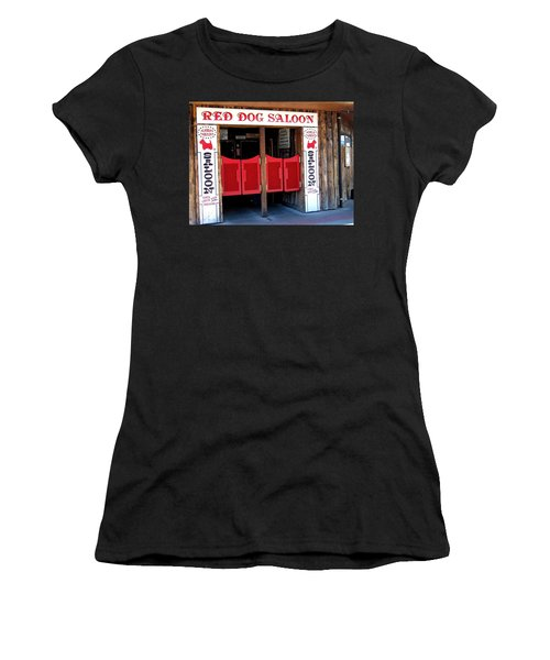 Red Dog Saloon Juneau Women's T-Shirt (Athletic Fit)