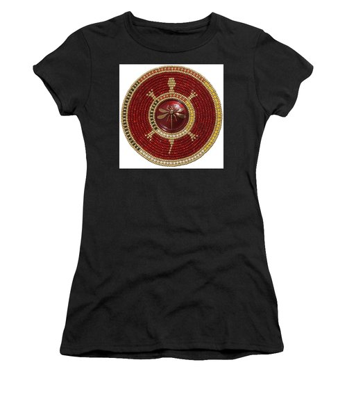 Red Dragonfly Women's T-Shirt (Athletic Fit)