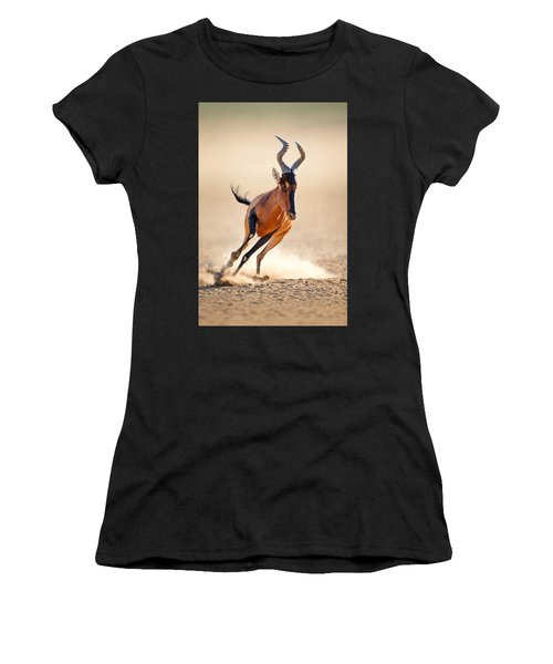 Red Hartebeest Running Women's T-Shirt