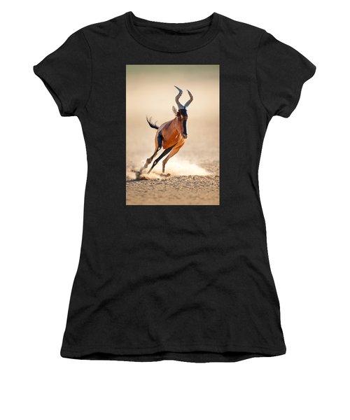 Red Hartebeest Running Women's T-Shirt