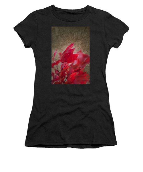 Red Maple Dreams Women's T-Shirt (Athletic Fit)