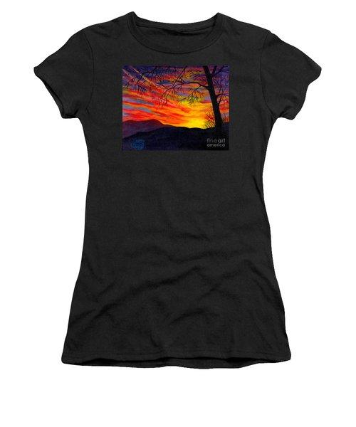 Red Sunset Women's T-Shirt