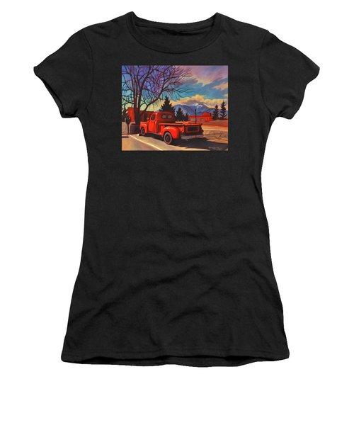 Red Truck Women's T-Shirt