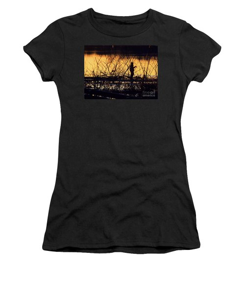 Reeling In A New Day Women's T-Shirt