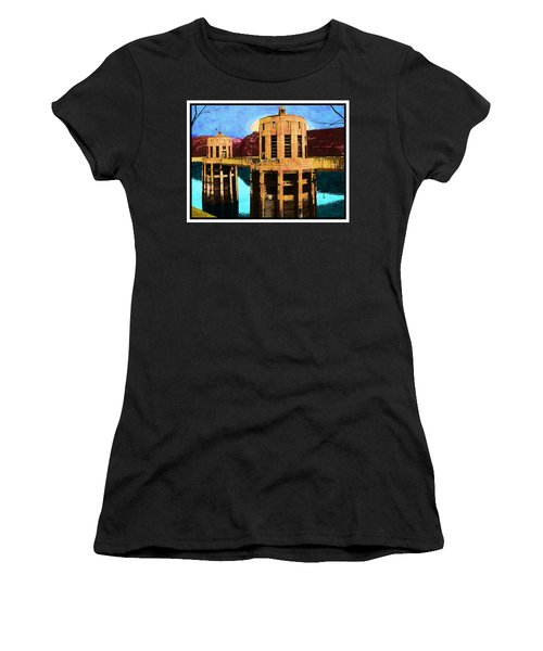 Reflections At Hoover Dam Women's T-Shirt