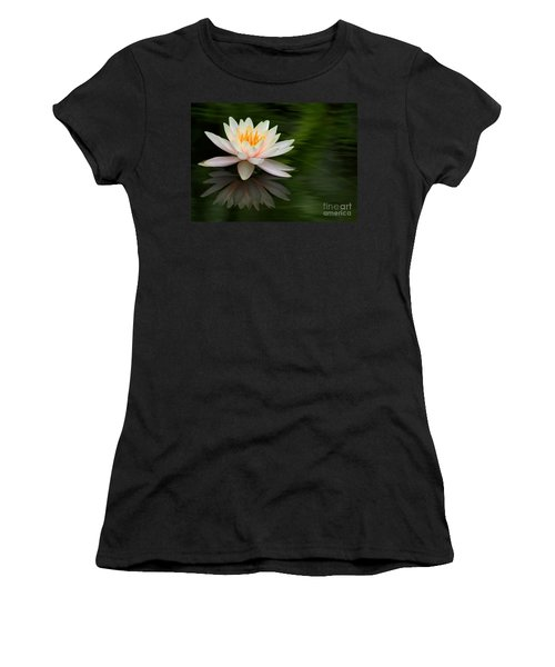 Reflections Of A Water Lily Women's T-Shirt