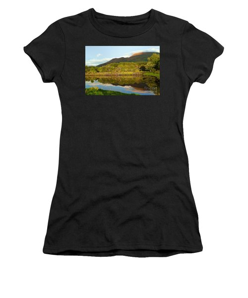 Reflections On Loch Etive Women's T-Shirt (Athletic Fit)