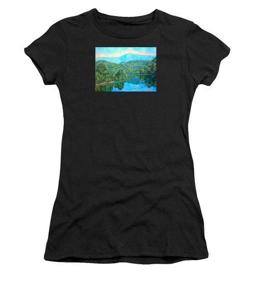 Reflections On The James River Women's T-Shirt