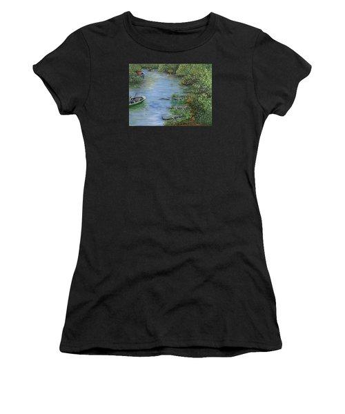Refuge? Women's T-Shirt (Athletic Fit)