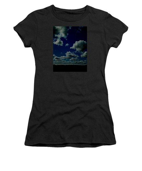 Women's T-Shirt (Junior Cut) featuring the digital art Regret by Jeff Iverson