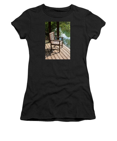 Alone By The Lake Women's T-Shirt