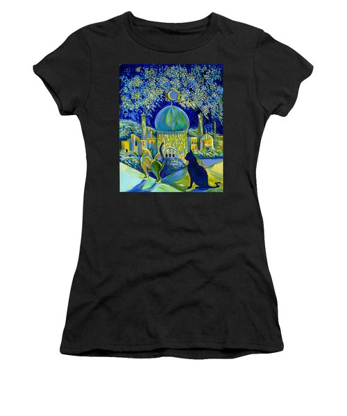 Reminiscences Of Asia. Bed Time Story Women's T-Shirt (Athletic Fit)