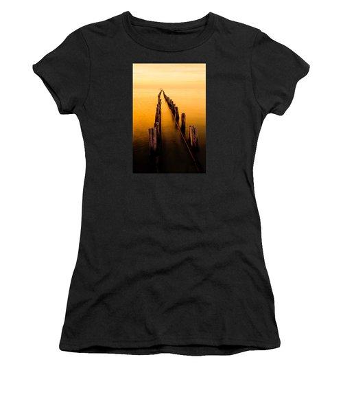 Remnants Women's T-Shirt (Junior Cut) by Chad Dutson