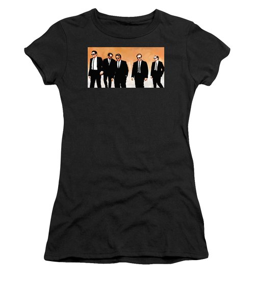Reservoir Dogs Movie Artwork 1 Women's T-Shirt (Athletic Fit)