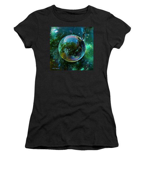 Reticulated Dream Orb Women's T-Shirt (Athletic Fit)