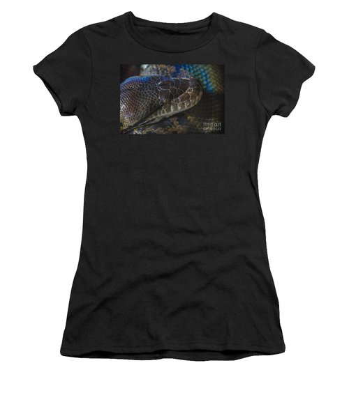Reticulated Python With Rainbow Scales Women's T-Shirt