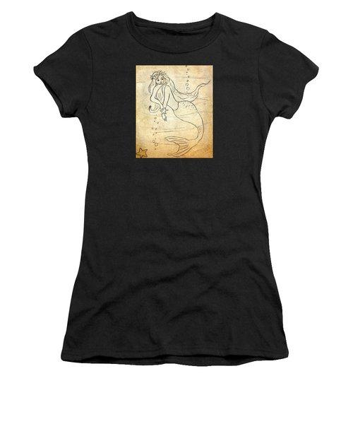Retro Mermaid Women's T-Shirt (Athletic Fit)