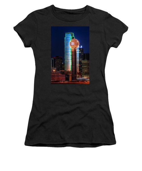 Reunion Tower Women's T-Shirt (Athletic Fit)