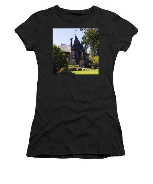 Rhine House At Beringer Winery St Helena Napa California Dsc1719 Square Women's T-Shirt
