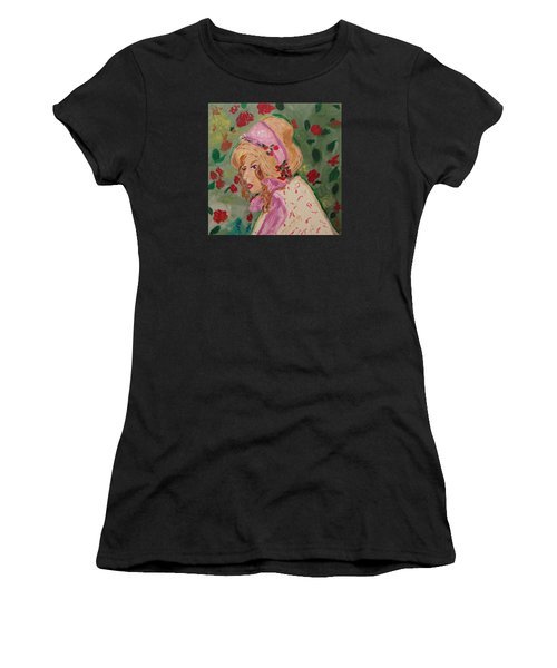 Ribbons And Roses Women's T-Shirt (Athletic Fit)