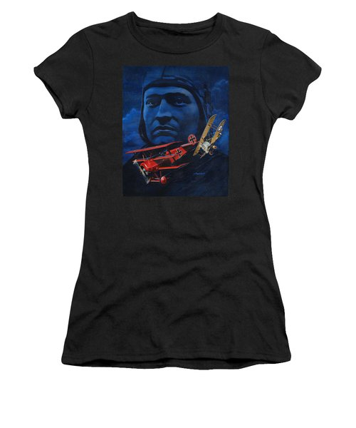 Richthofen And Brown Women's T-Shirt (Athletic Fit)