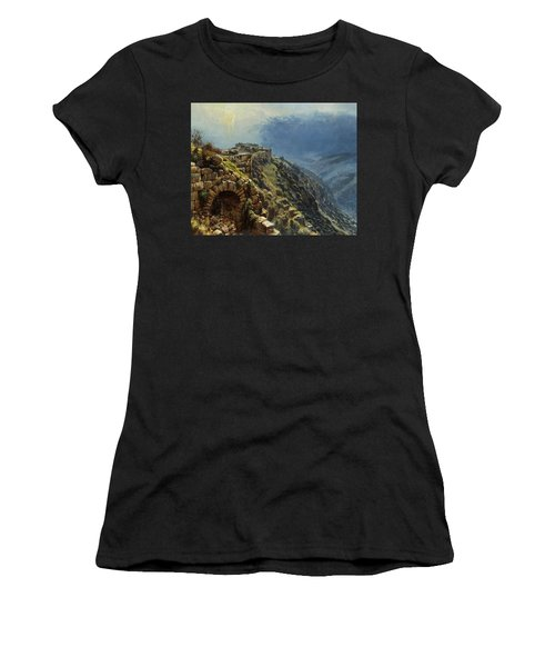 Rider On A White Horse Women's T-Shirt