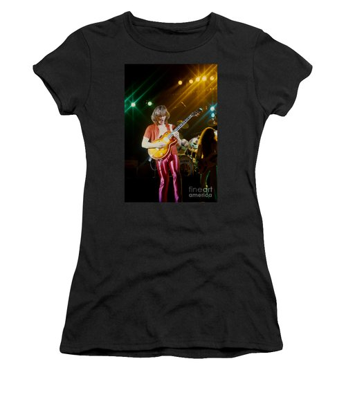 Rik Emmett Of Triumph At The Warfield Theater In San Francisco Women's T-Shirt (Athletic Fit)